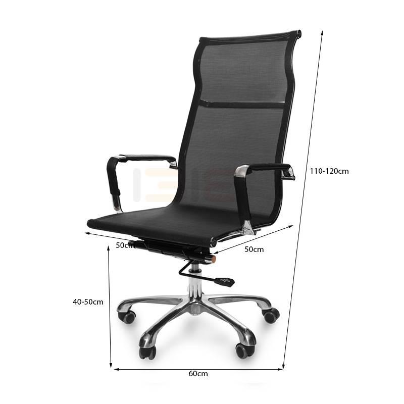 Kích thước ghế IB811 màu đen