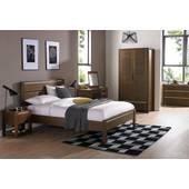 Bộ phòng ngủ Capri gỗ óc chó