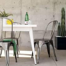 Bộ bàn ghế Tolix 2