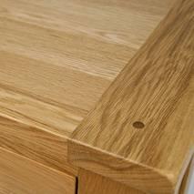Góc tủ giầy gỗ sồi