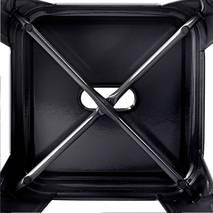 Ghế đôn Tolix chân thấp 45cm màu đen 5