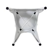 Ghế tựa Tolix lưng cao màu trắng 4
