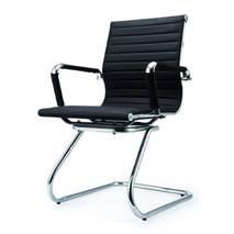Ghế da IB06GQ chân quỳ cao cấp màu đen 2
