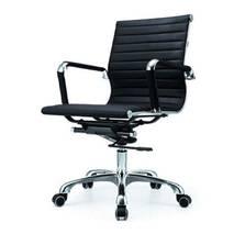Ghế da IB07GA lưng thấp chân hợp kim nhôm phòng họp