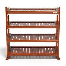 Kệ dép 4 tầng IB480 gỗ cao su 80x30x68 cm màu cánh gín 1
