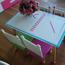 Bộ bàn ghế mầm non mẫu giáo bút chì