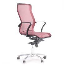 Ghế lưới văn phòng cao cấp Jupiter SB1000 Plus màu đỏ nghiêng