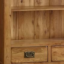 Kệ sách gỗ sồi Mỹ French chi tiết
