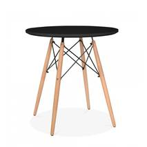 bàn tròn Eiffel đen