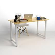 Bộ bàn làm việc Rec-T trắng
