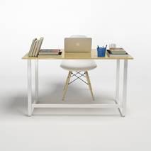 Bộ bàn Rec-F trắng và ghế Eames trắng 1