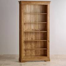 Kệ sách gỗ sồi Mỹ French 3 tầng