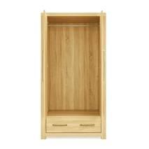 Tủ áo Cuba gỗ sồi 2 cánh mở
