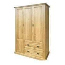 Tủ áo Pano 3 cánh gỗ sồi nghiêng