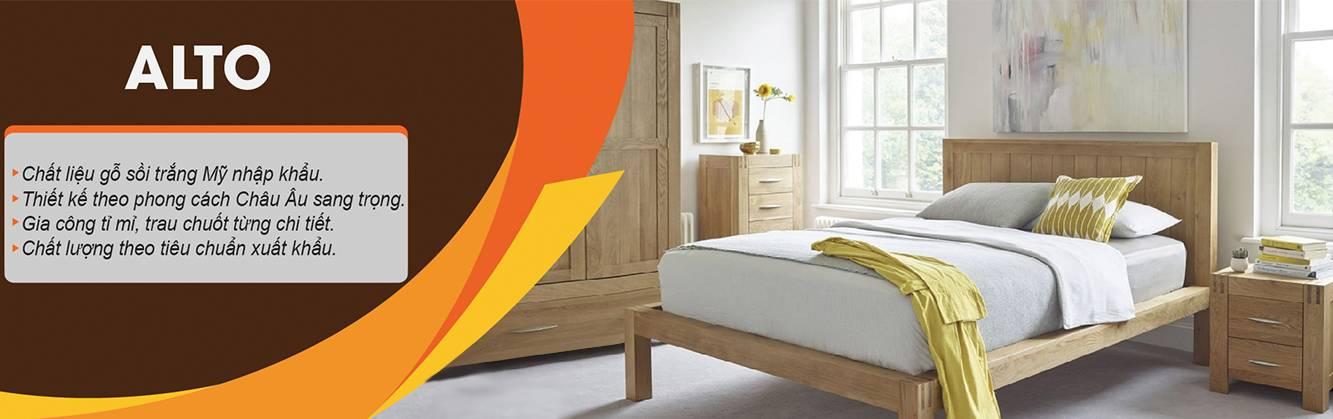 Giao diện bộ sưu tập Alto gỗ sồi