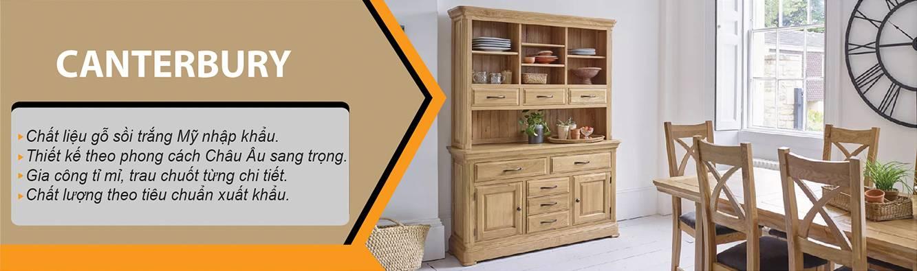 Benner bộ sưu tập Canterbury gỗ sồi