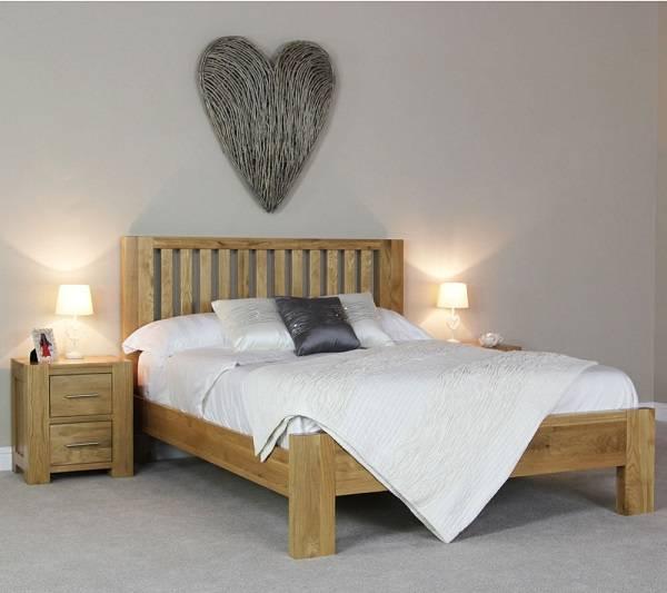 giường gỗ sồi goodwood