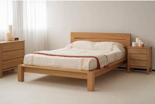 giường gỗ sồi ocean