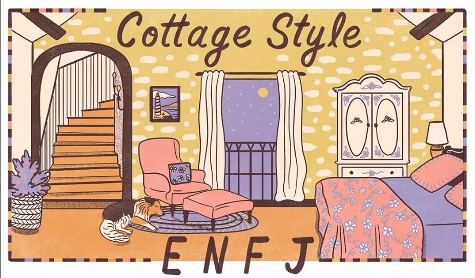 phong cách cottage