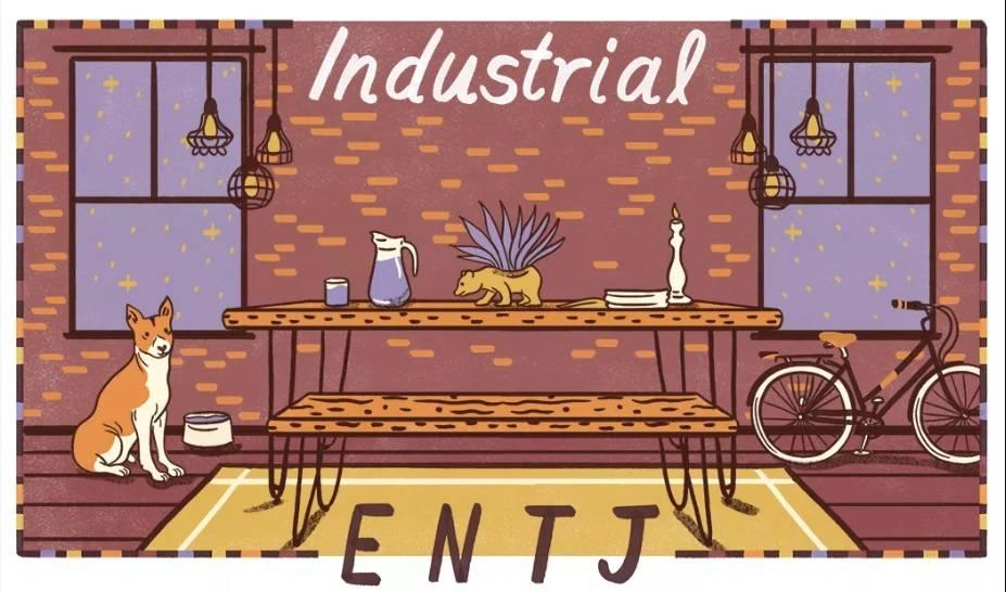phong cách công nghiệp