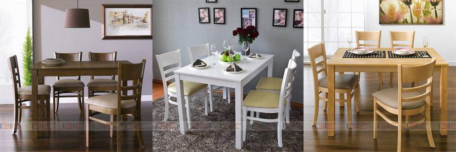 Bộ bàn ăn 4 ghế Ulsan