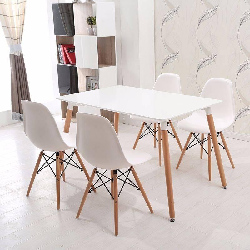 Bộ bàn Veron trắng 4 ghế
