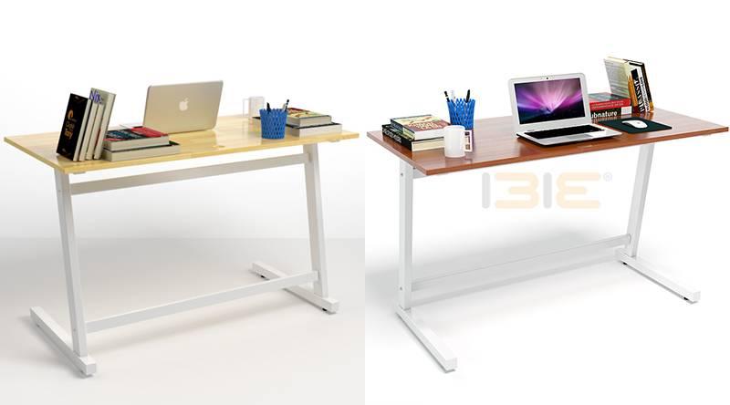 Bộ bàn Rec-T trắng và ghế IB517