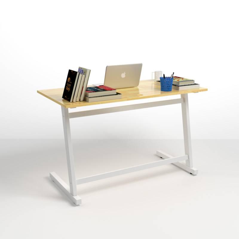 Bộ bàn Rec-Z trắng màu tự nhiên