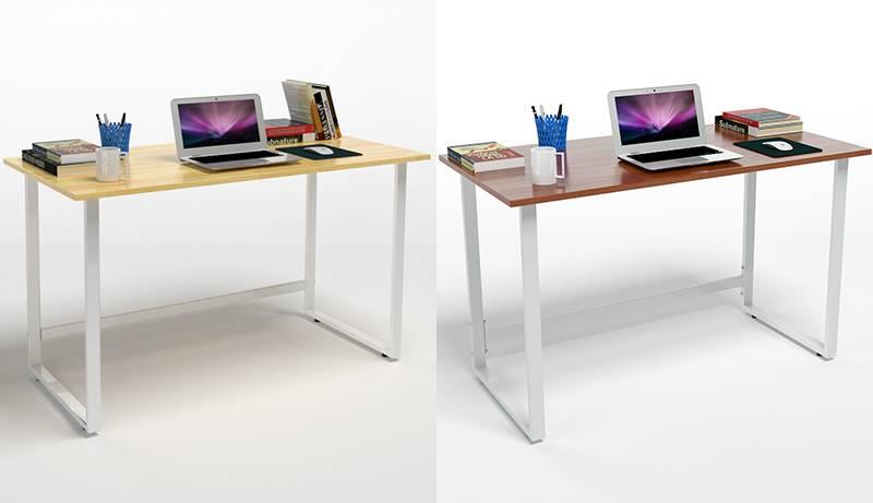 Bộ bàn Rec-T trắng và ghế IB16A