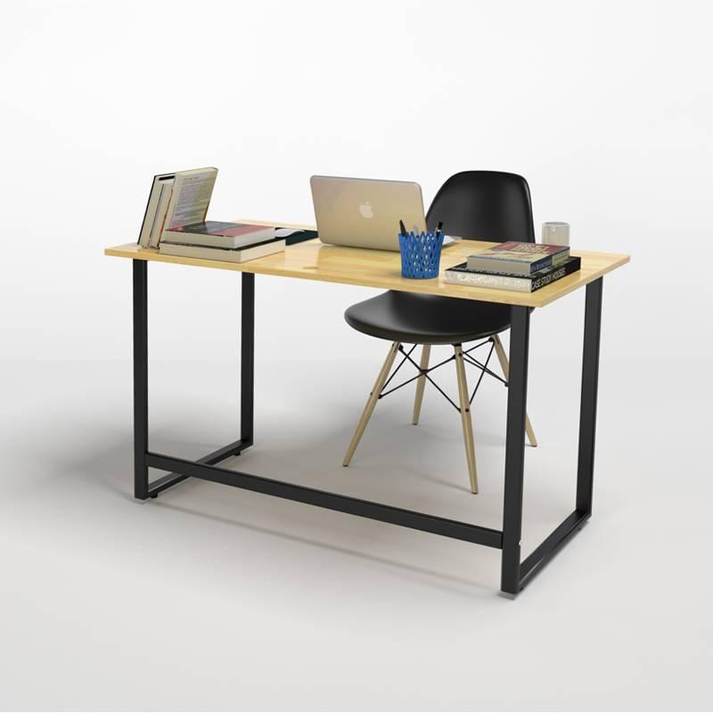 Bộ bàn Rec-F chân đen và ghế Eames đen