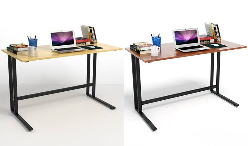 Bộ bàn Rec-T đen và ghế IB16A