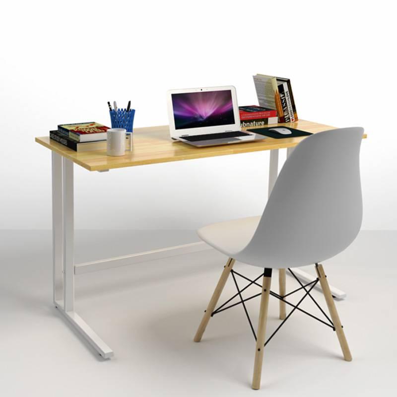 Bộ bàn Rec-U trắng màu tự nhiên