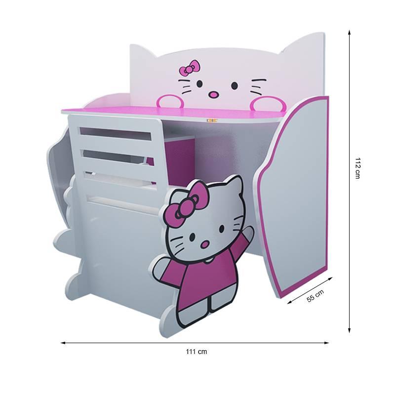 Bộ bàn ghế trẻ em Hello Kitty