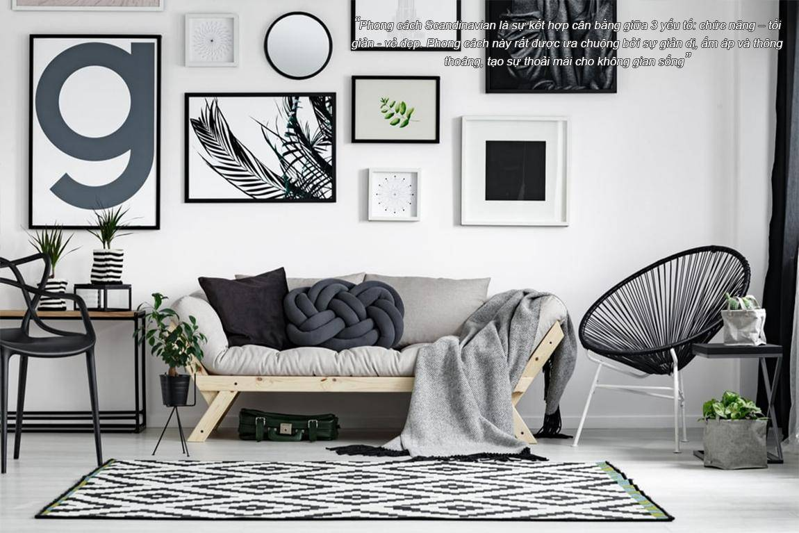 Phong cách Scandinavian & Minimalsim