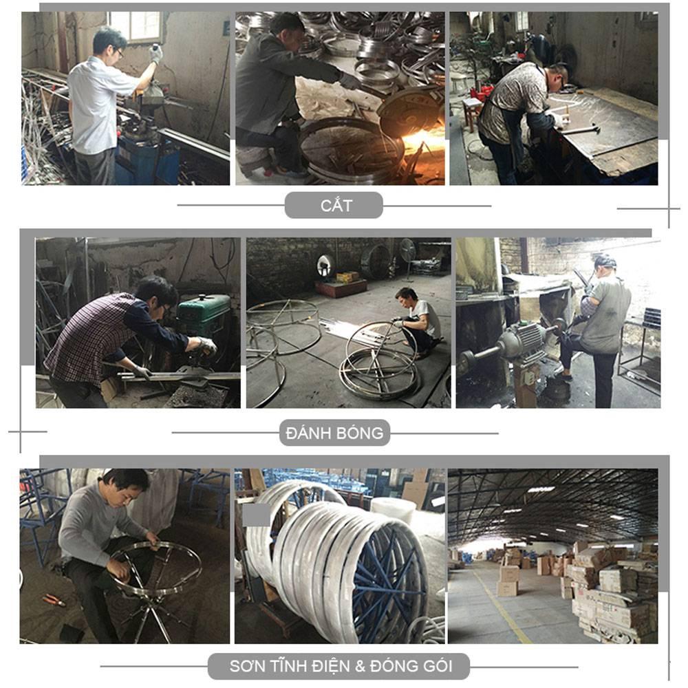 Quy trình sản xuất nội thất sắt