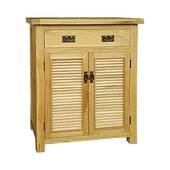 Tủ giầy 2 cánh lá sách IBH21 gỗ sồi