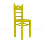 Ghế bút chì màu vàng