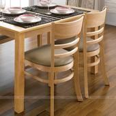 Bộ bàn ăn 4 ghế Ulsan màu tự nhiên 3