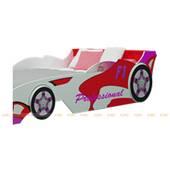 Giường xe đua công thức F1 màu đỏ nhiều kích thước