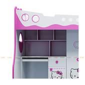 Giường tầng 3 trong 1 hình Hello Kitty