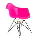 Ghế Armest lưng nhựa chân sắt nhiều màu