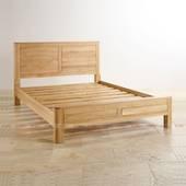 Giường đôi Romsey gỗ sồi