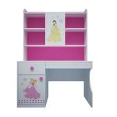 Bộ bàn học có giá sách hình Công chúa 1m2