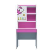 Bộ bàn học có giá sách hình Hello Kitty 80cm