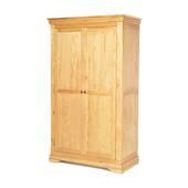 Tủ quần áo Victoria 2 cánh suốt gỗ sồi