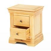 Tủ đầu giường Victoria 2 hộc gỗ sồi