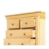Tủ 5 ngăn kéo ngang Victoria gỗ sồi