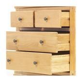 Tủ 4 ngăn kéo ngang Victoria gỗ sồi