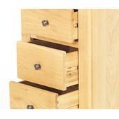 Tủ 5 ngăn kéo đứng Victoria gỗ sồi