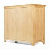 Tủ 5 ngăn kéo ngang Rustic gỗ sồi